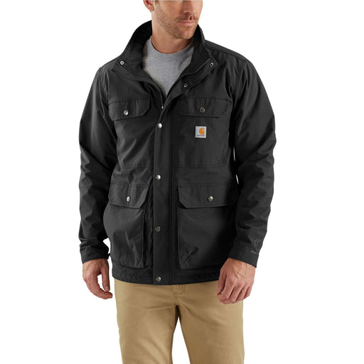 Carhartt 103126 Men's Utility Coat in Black at Dave's New York