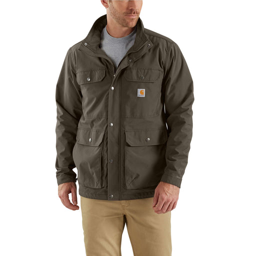 Carhartt 103126 Men's Utility Coat in Tarmac at Dave's New York