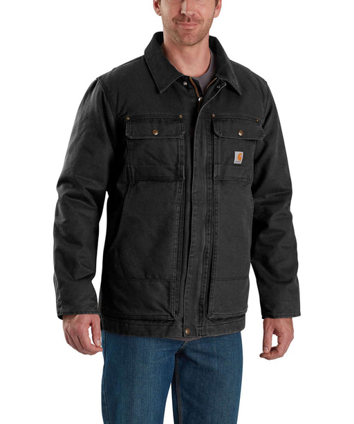 Carhartt Men's Full Swing Traditional Coat - Black at Dave's New York