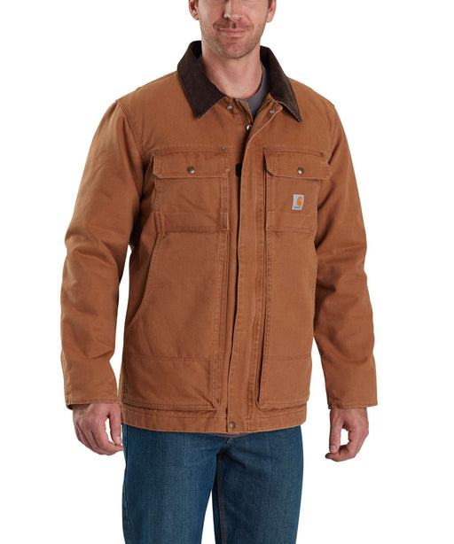 Carhartt 103283 Men's Full Swing Traditional Coat in Carhartt Brown at Dave's New York