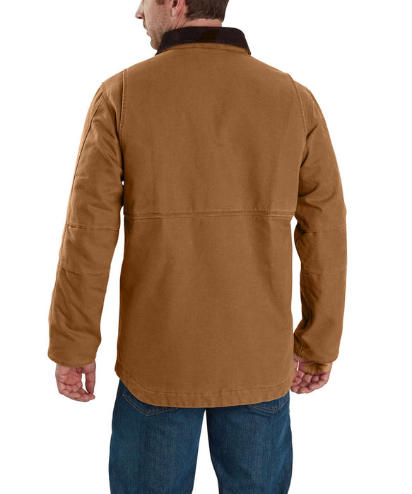 Carhartt 103283 Men's Full Swing Traditional Coat - Carhartt Brown