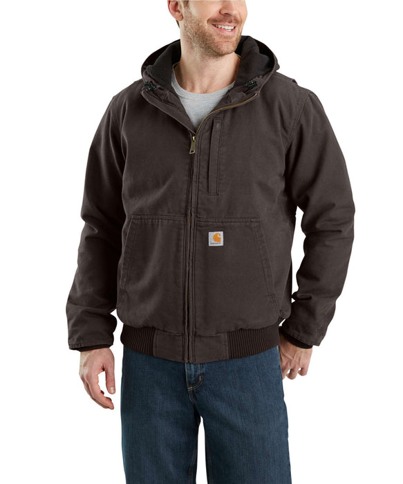 Carhartt 103371 Full Swing Armstrong Active Jac in Dark Brown at Dave's New York