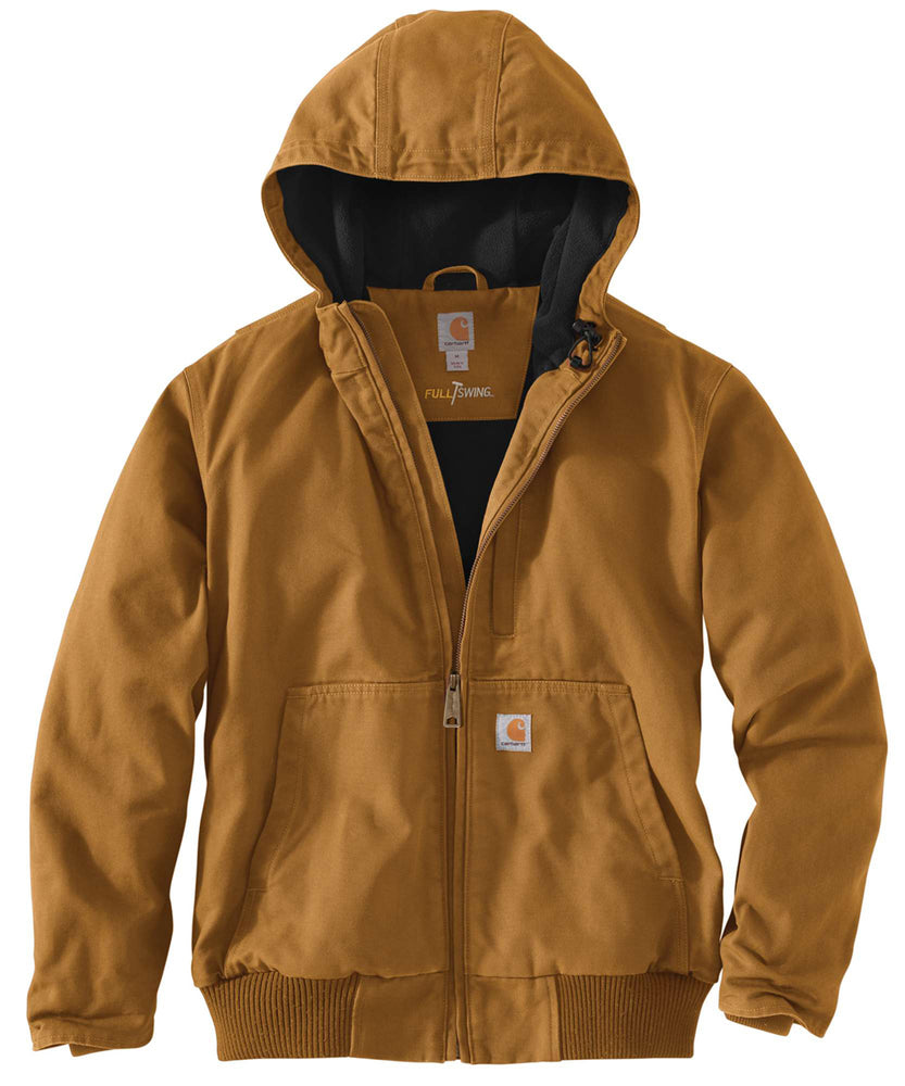 Carhartt 103371 Full Swing Armstrong Active Jac - Carhartt Brown