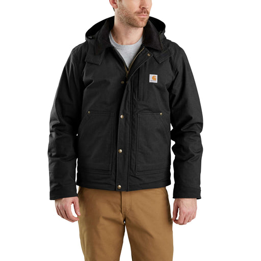 Carhartt 103372 Full Swing Steel Jacket in Black at Dave's New York