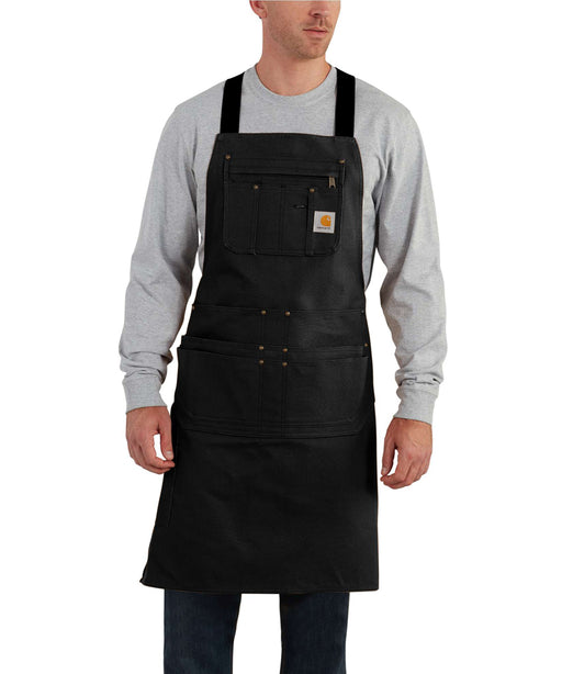 Carhartt Canvas Duck Apron in Black at Dave's New York