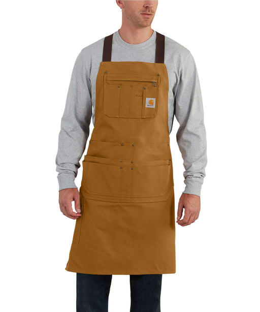 Carhartt 103439 Canvas Duck Apron in Carhartt Brown at Dave's New York