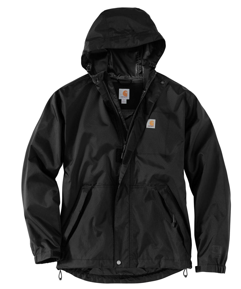 Carhartt Dry Harbor Waterproof Jacket in Black at Dave's New York