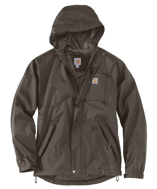 Carhartt Dry Harbor Waterproof Jacket in Tarmac at Dave's New York