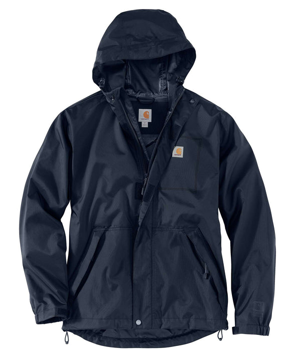Carhartt Dry Harbor Waterproof Jacket in Navy at Dave's New York