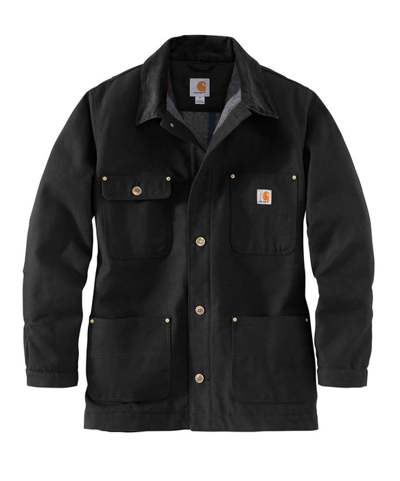 Carhartt Firm Duck Chore Coat - Black