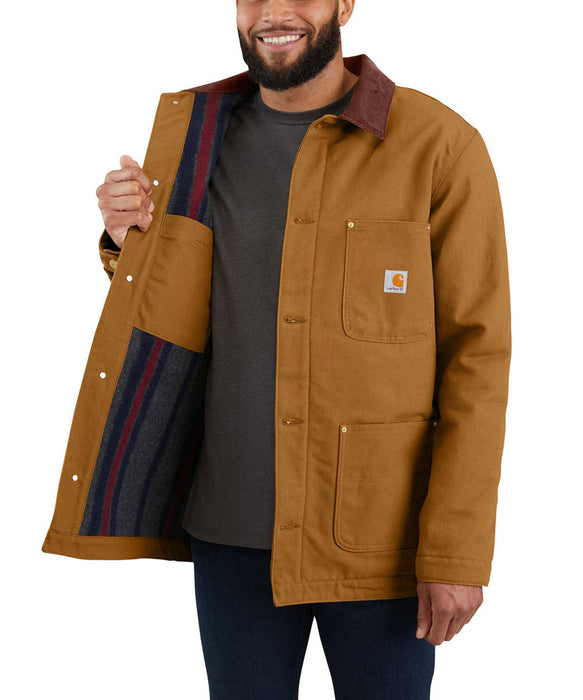 Carhartt Firm Duck Chore Coat - Carhartt Brown