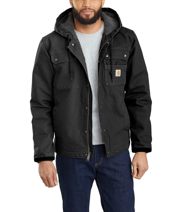 Carhartt Washed Duck Bartlett Jacket in Black at Dave's New York