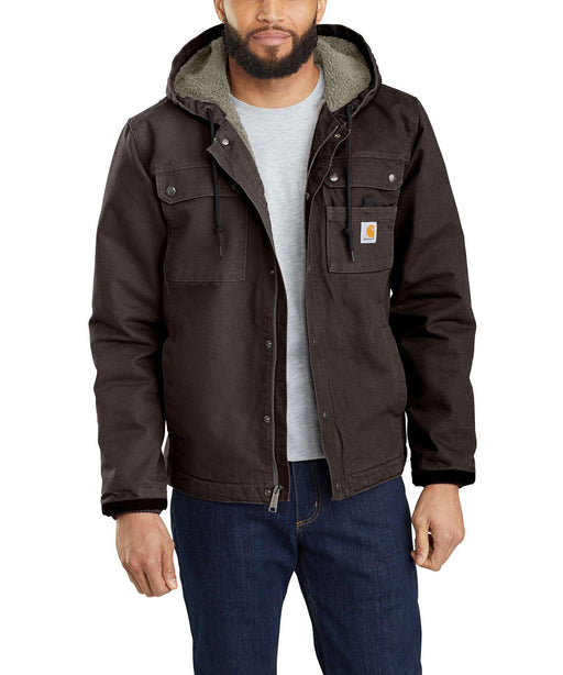 Carhartt Washed Duck Bartlett Jacket in Dark Brown at Dave's New York