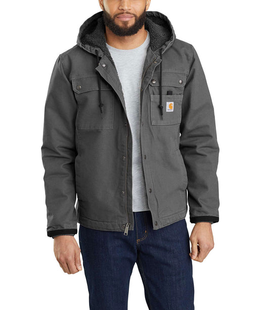 Carhartt Washed Duck Bartlett Jacket in Gravel at Dave's New York