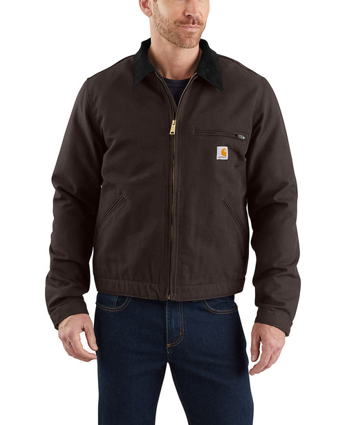 Carhartt Duck Detroit Jacket in Dark Brown at Dave's New York