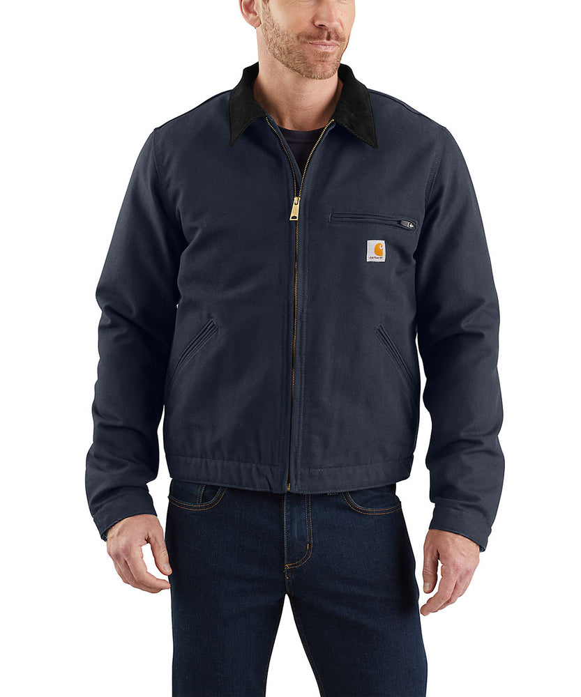 Carhartt Duck Detroit Jacket in Navy at Dave's New York