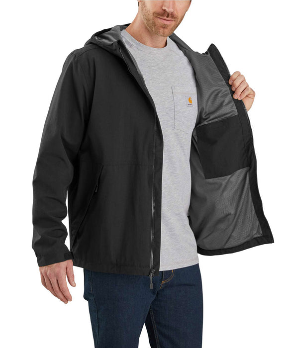 Carhartt Men's Storm Defender Hooded Jacket in Black at Dave's New York