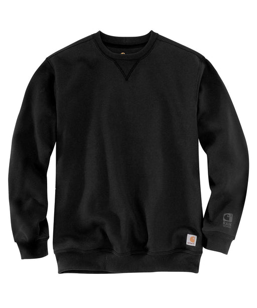 Carhartt Men's Heavyweight Paxton Rain Defender Crewneck Sweatshirt in Black at Dave's New York