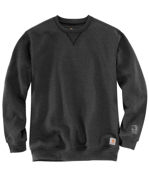 Carhartt Men's Heavyweight Paxton Rain Defender Crewneck Sweatshirt - Carbon Heather
