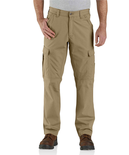 Carhartt Men's Force Relaxed Fit Ripstop Cargo Work Pant in Dark Khaki at Dave's New York
