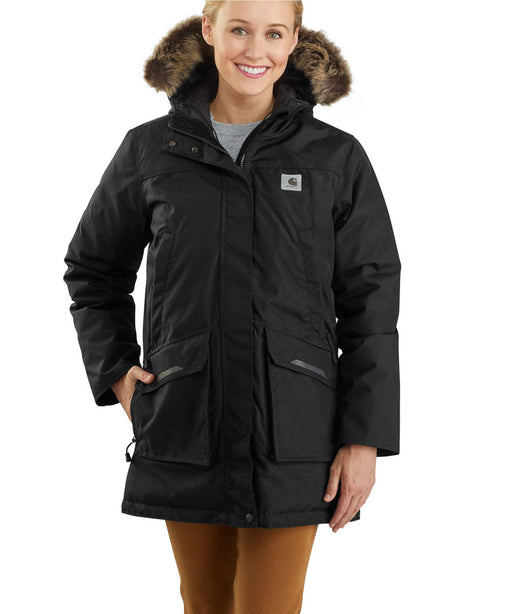 Carhartt Women's Yukon Extremes Insulated Parka - Black at Dave's New York