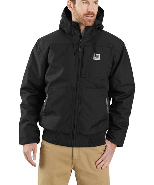 Carhartt Men's Yukon Extremes Insulated Active Jac - Black at Dave's New York