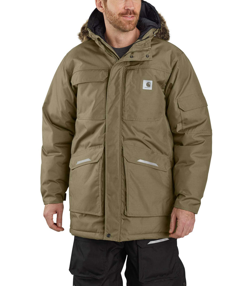 Carhartt Men's Yukon Extremes Insulated Parka - Burnt Olive