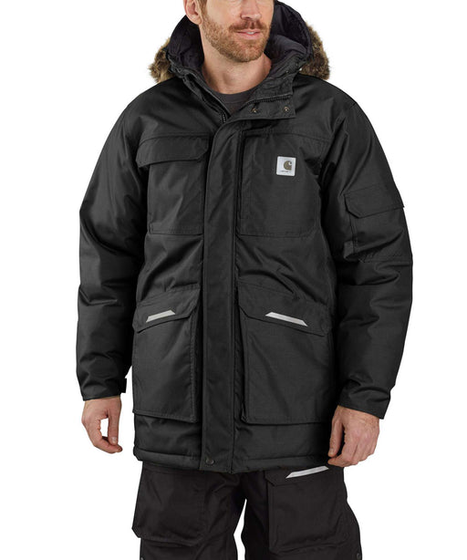 Carhartt Men's Yukon Extremes Insulated Parka in Black at Dave's New York