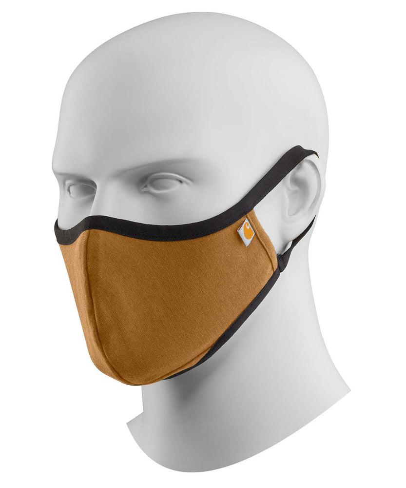 Carhartt Ear Loop Face Mask - Carhartt Brown at Dave's New York