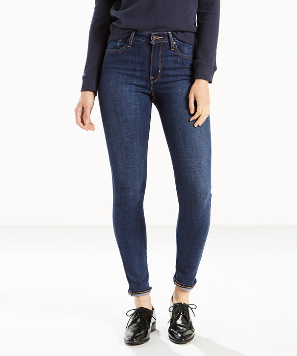 Levi 721 High Rise Skinny Jeans – Blue Story