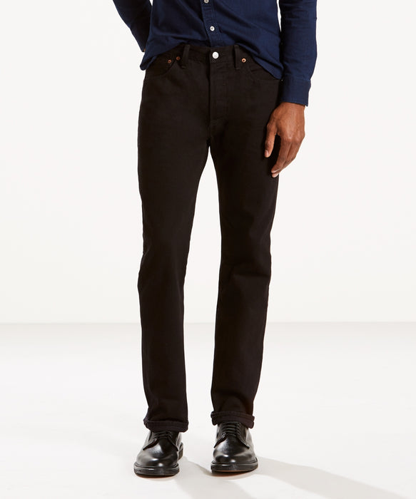 Levi's Men's 501 Original Fit Jeans (Made in the USA) in Black Denim at Dave's New York
