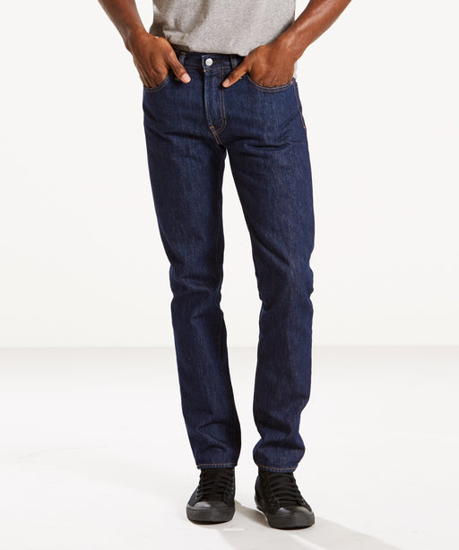 LEvi's Men's 511 Slim Fit Jeans (Made in the USA) in Rinse Denim at Dave's New York