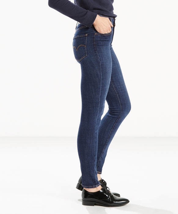 Levi's Women's 721 High Rise Skinny Jeans Blue Story