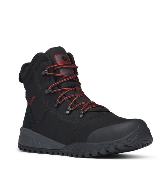 Columbia Sportswear Men's Fairbanks Omni-Heat Boot - Black, Rusty