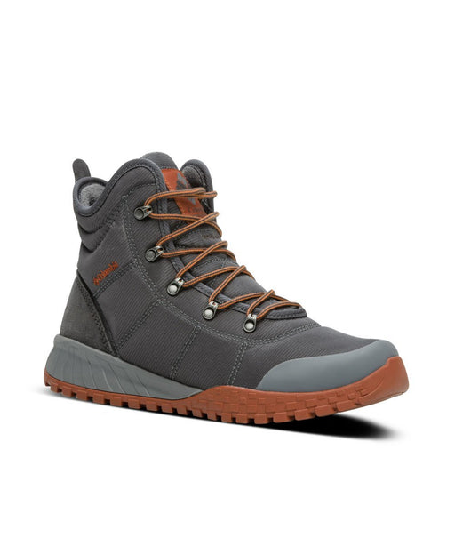Columbia Sportswear Men's Fairbanks Omni-Heat Boot - Graphite, Dark Adobe