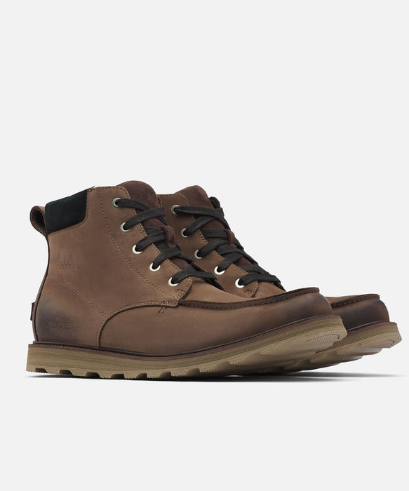 Sorel Men's Madson Moc Toe Waterproof Boots in Bruno at Dave's New York