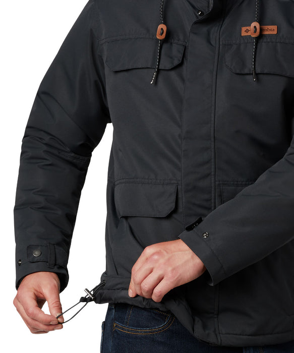 Columbia Men's South Canyon Lined Insulated Jacket - Black