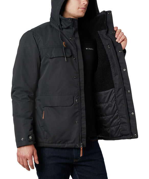 Columbia Men's South Canyon Lined Insulated Jacket in Black at Dave's New York