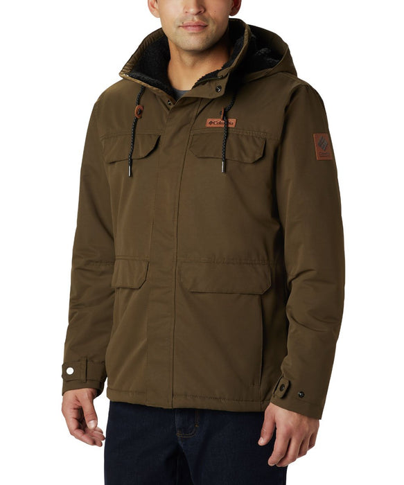 Columbia Men's South Canyon Lined Insulated Jacket in Olive Green at Dave's New York