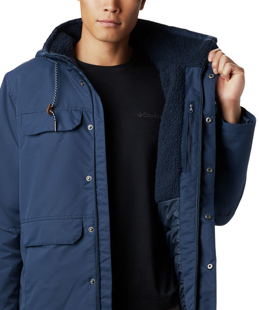 Columbia Men's South Canyon Lined Insulated Jacket in Collegiate Navy at Dave's New York