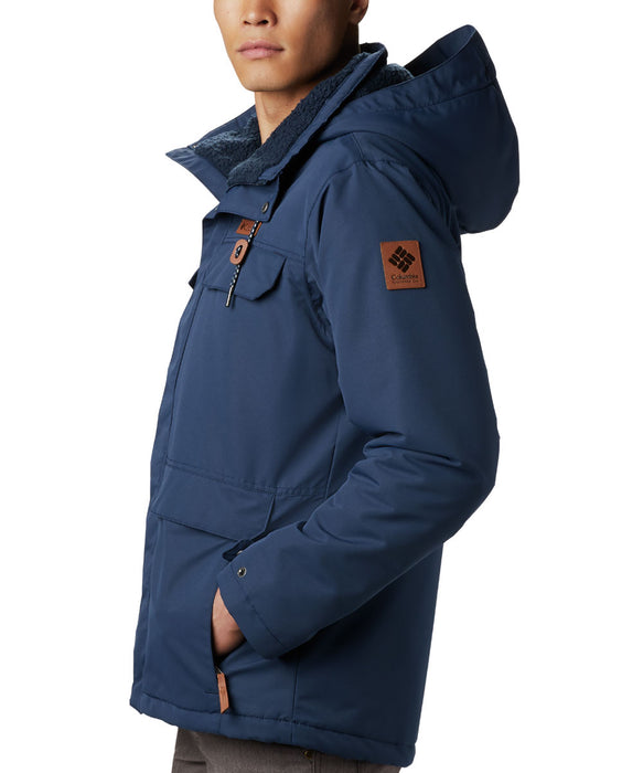 Columbia Men's South Canyon Lined Insulated Jacket - Collegiate Navy