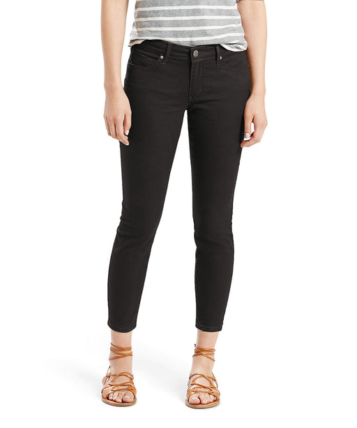 Levi's Women's 711 Ankle Skinny Jeans in Soft Black at Dave's New York