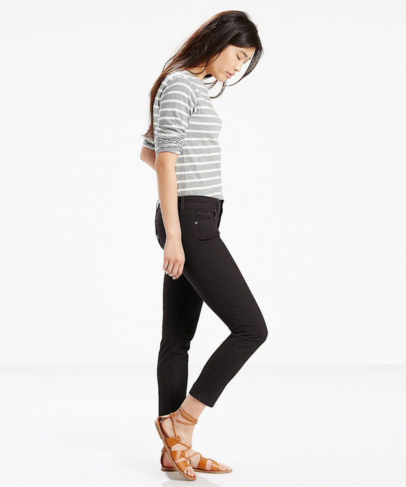 Levi's Women's 711 Ankle Skinny Jeans - Soft Black