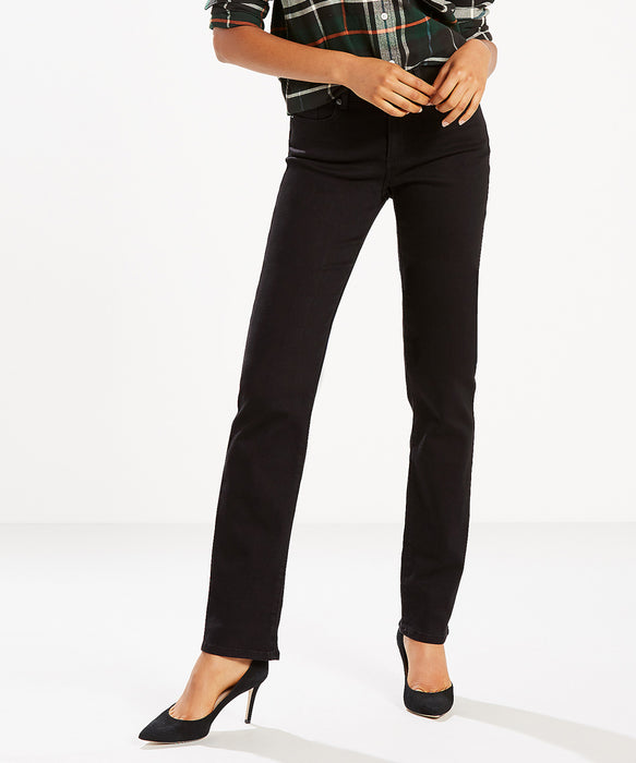 Levi's Women's Classic Straight Jeans in Soft Black at Dave's New York