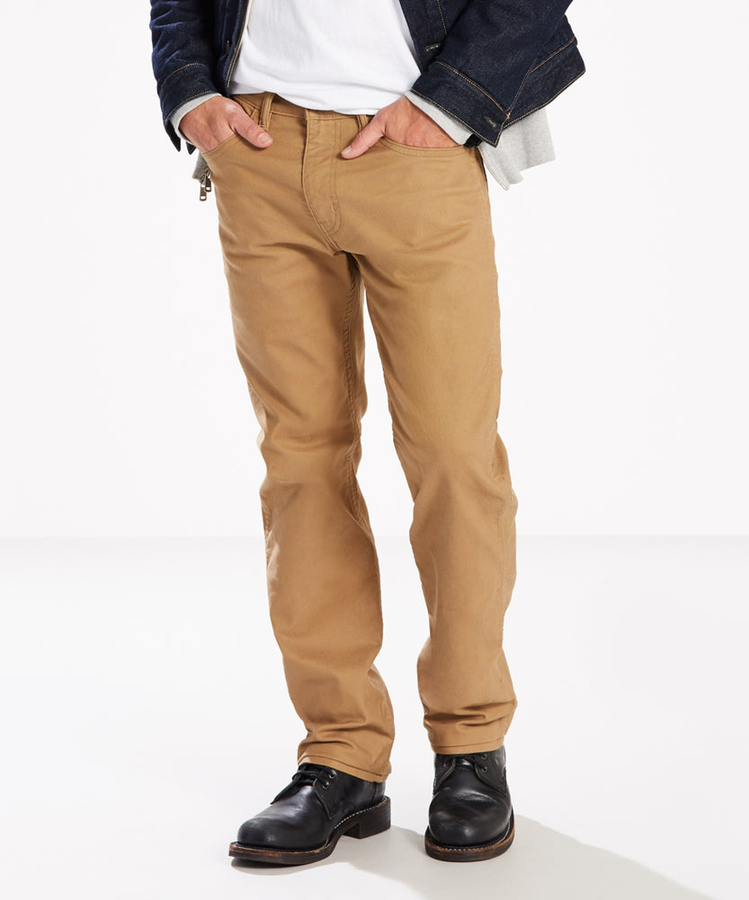 Levi's Men's 505 Regular Fit, 5-Pocket Workwear Pants in Ermine Canvas at Dave's New York