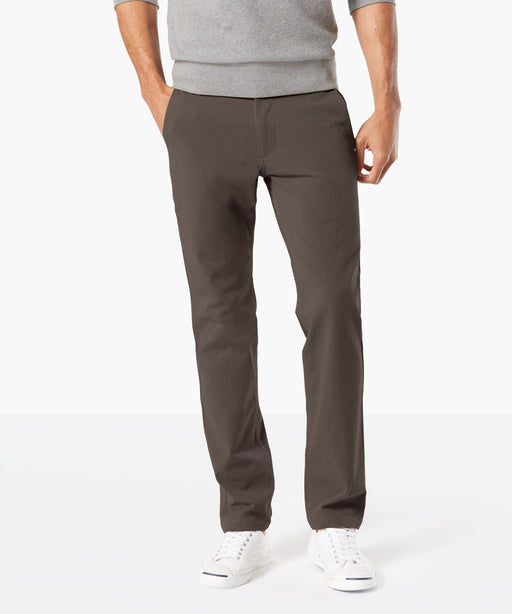 Dockers Men's Slim Tapered 360 FLEX Downtime Khaki – Steelhead Grey