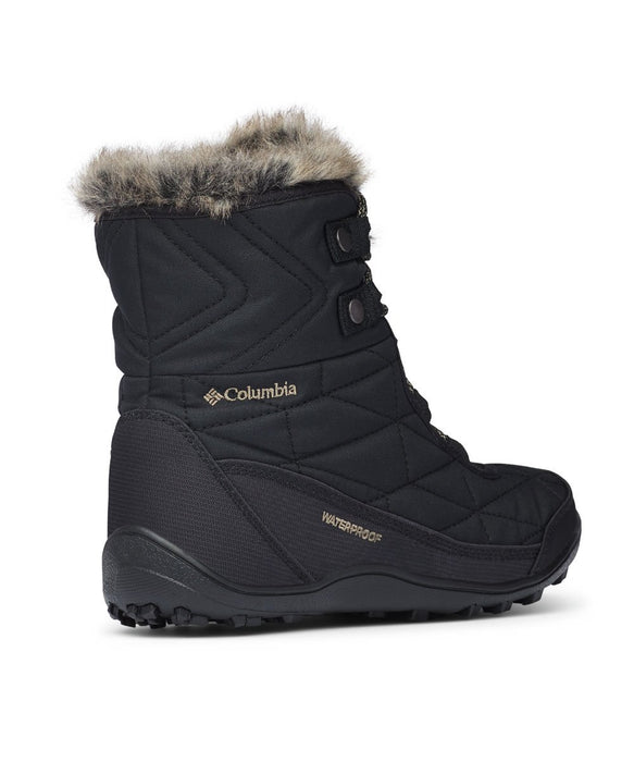 Columbia Women's Minx Shorty III Winter Boots in Black at Dave's New York