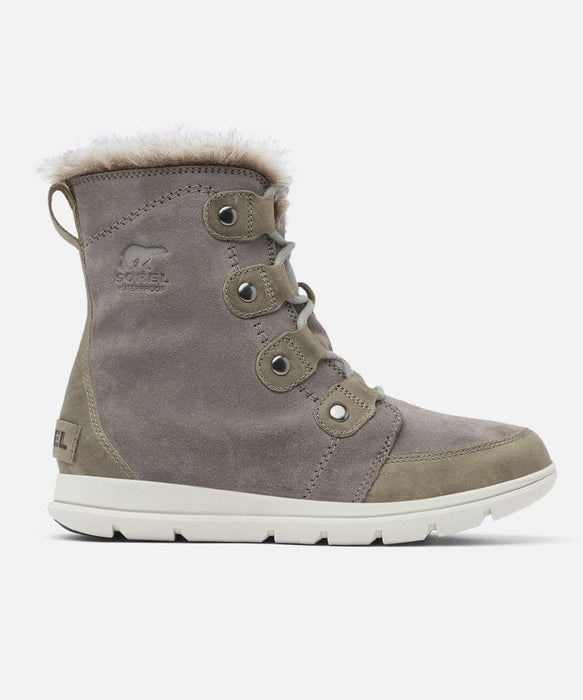 Sorel Women's Explorer Joan Winter Boots in Quarry at Dave's New York
