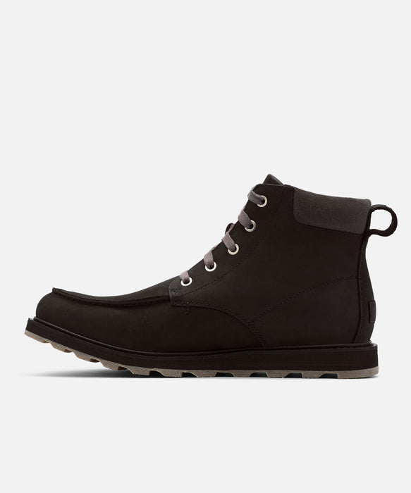 Sorel Men's Madson Moc Toe Waterproof Boots in Black at Dave's New York