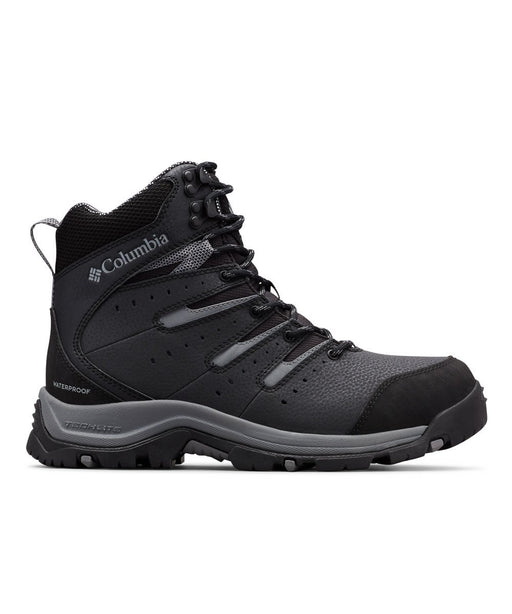 Columbia Men's Gunnison II Plus Omni-Heat Winter Boots in Black/Grey Steel at Dave's New York